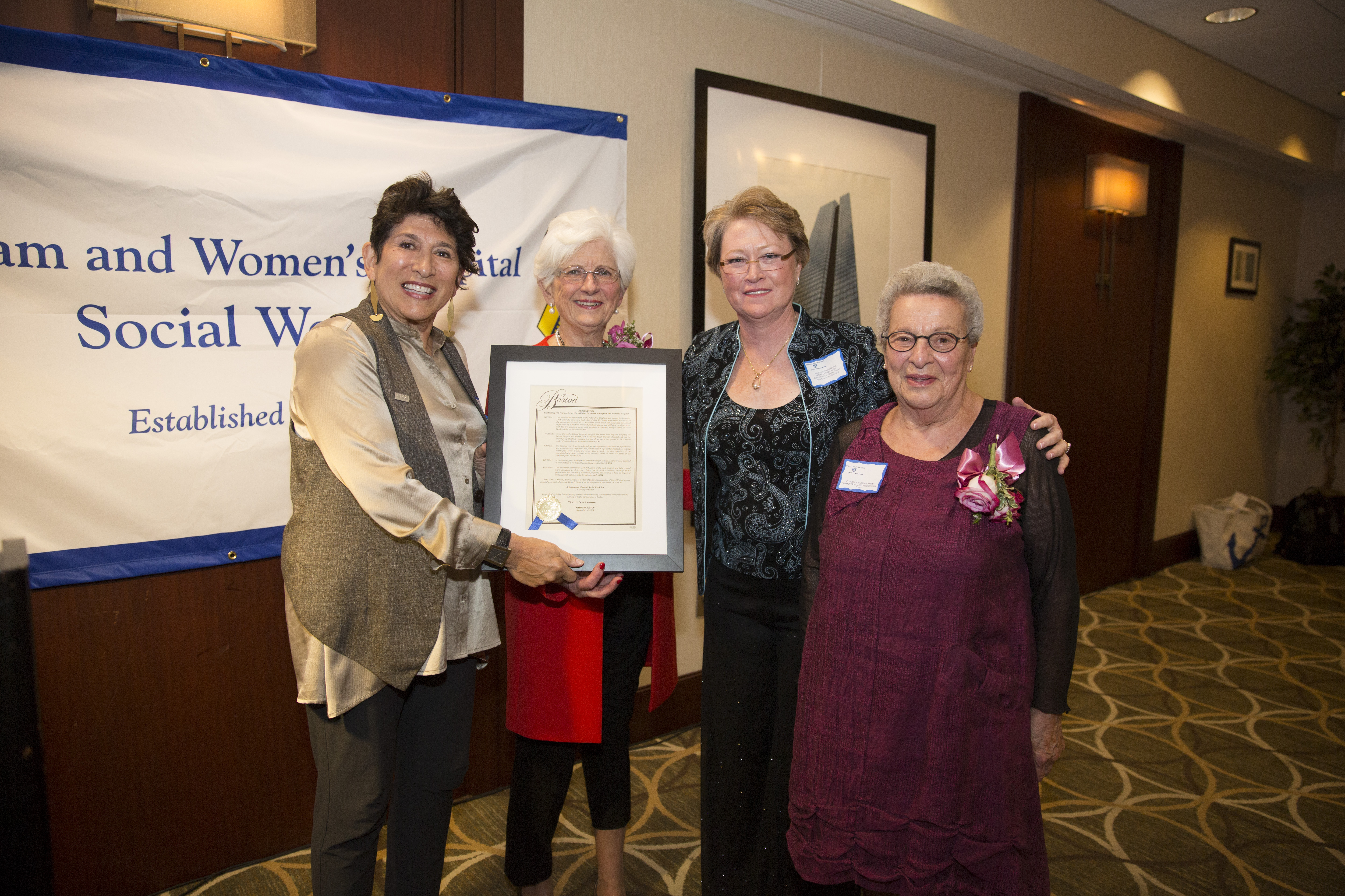 Recognizing 100 Years Of Social Work At Bwh Bwh Heart Science