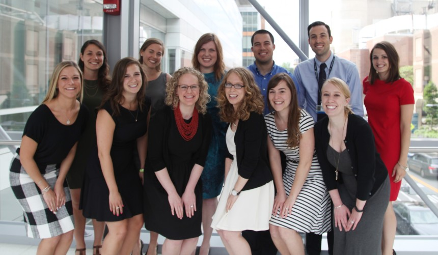 The 2015 graduates of the BWH dietetic internship