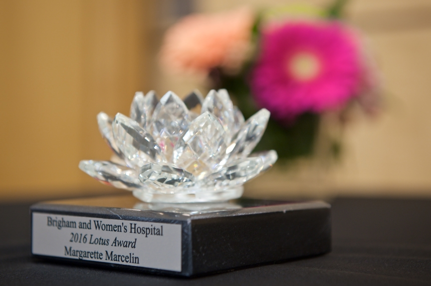 BRIGHAM AND WOMEN'S HOSPITAL PATIENT CARE SERVICES ANNUAL LOTUS AWARDS RECIPIENTS