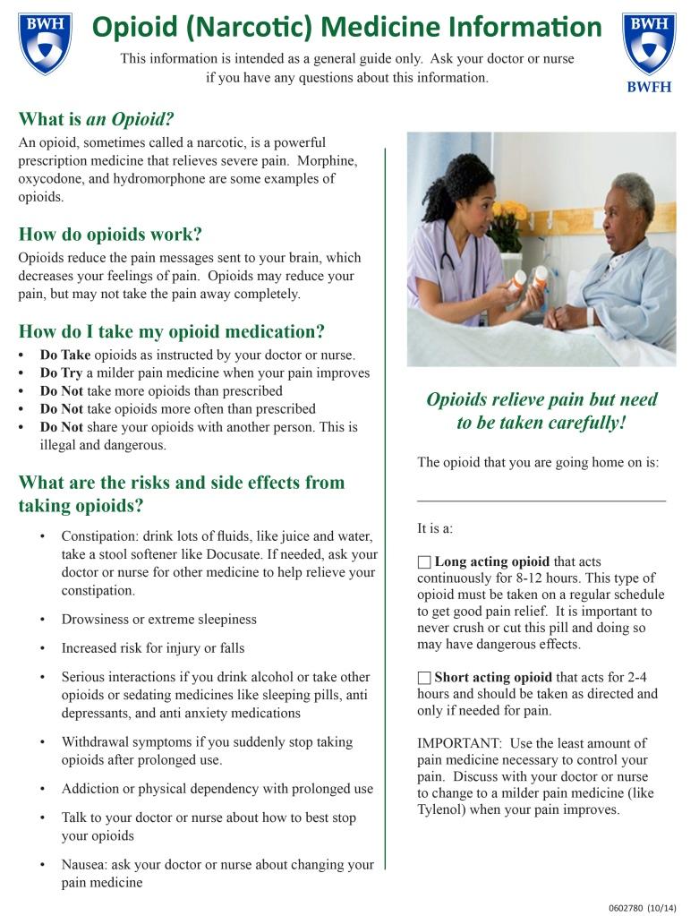 Opioid Info Sheet-1