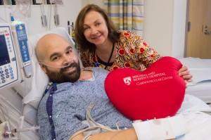 Susan Gabriel caring for a patient.