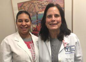 Alba Garcia and Susan Schilling
